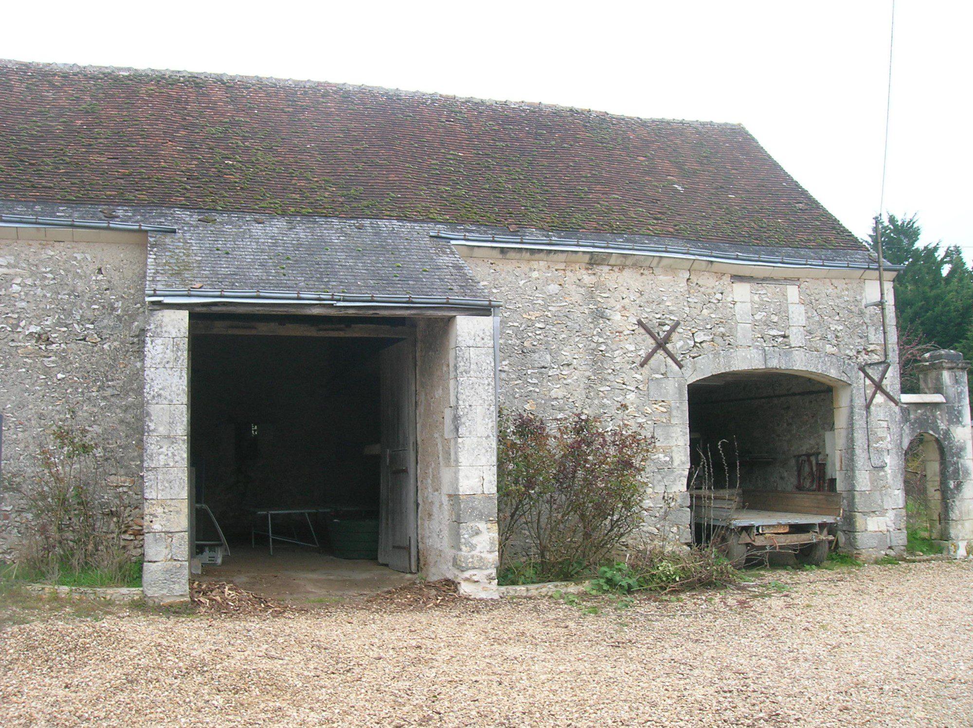 Grange de caract re r habiliter reignac sur indre 37 bouton immobilier - Rehabiliter une grange ...