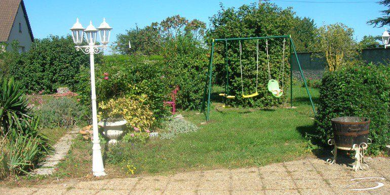 jardin maison reignac