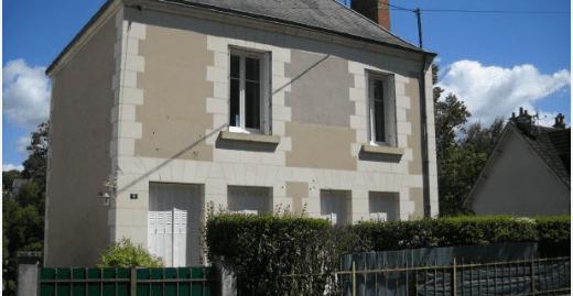 Maison  tourangelle  A  Courçay