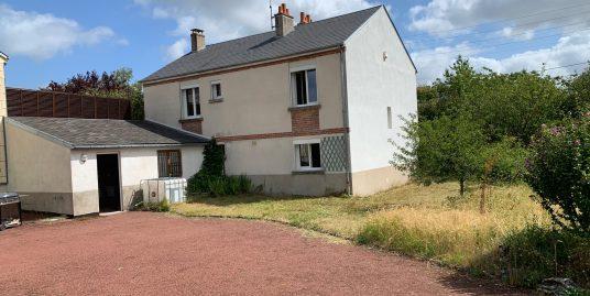 Maison sur sous-sol a St Jean De Bray 45800